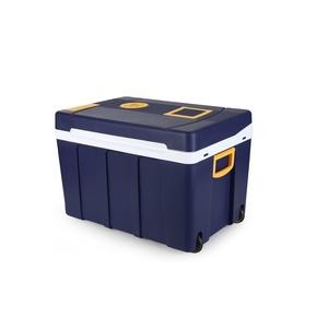 Chladící box s ohřevem Compass 50l 230V/12V pojízdný, Compass