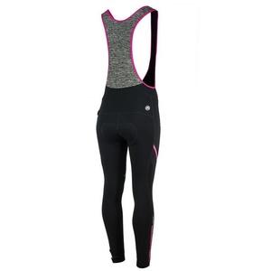 Dámské cyklistické kalhoty Rogelli Carou, 010.239. černo-šedo-růžové, Rogelli