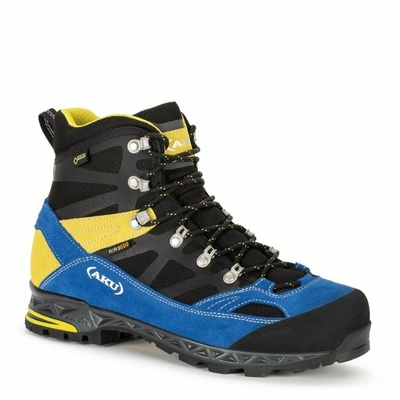 Pánské boty AKU Trekker Pro GTX černo/modro/žluté, AKU