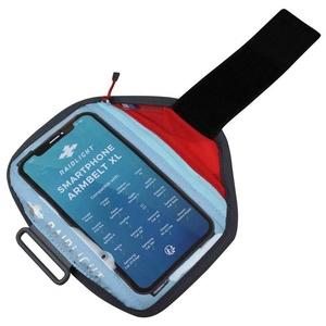 Pouzdro na mobil Raidlight Smartphone Armbelt XL Red Light, Raidlight