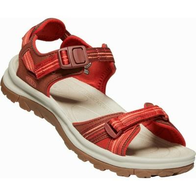 Sandály Keen TERRADORA II Open toe sandal Women dark red/coral, Keen