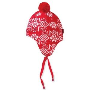 Dětská pletená čepice Kama BW18 - Windstopper 104 červená