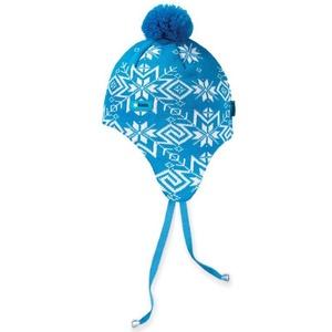Dětská pletená čepice Kama BW18 - Windstopper 115 tyrkysová