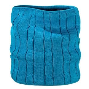 Pletený nákrčník Kama S15 115 tyrkysová