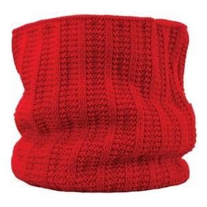 Pletený nákrčník Kama S18 104 červený, Kama