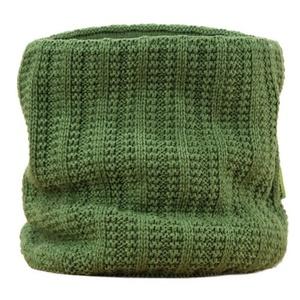 Pletený nákrčník Kama S18 105 zelený, Kama