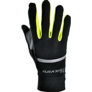 Unisex rukavice Silvini Isonzo UA905 black-neon
