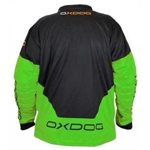 Brankářský dres OXDOG VAPOR GOALIE SHIRT black/green, Exel