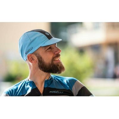 Cyklistická kšiltovka pod helmu Rogelli RETRO, modro-černá 009.968, Rogelli