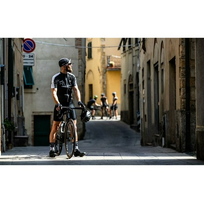 Cyklistická kšiltovka pod helmu Rogelli RETRO, černo-bílá 009.966, Rogelli