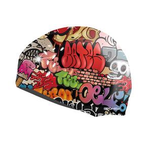 Plavecká čepice Spokey STYLO grafitti, Spokey