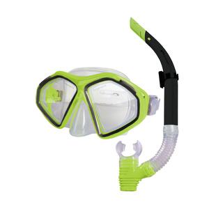 Sada brýle + šnorchl Spokey KRAKEN II limeta, Spokey