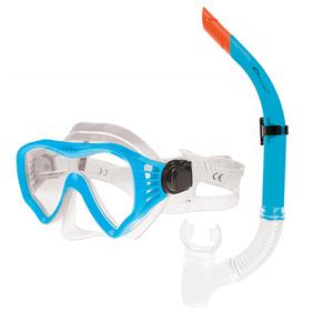 Sada brýle + šnorchl Spokey GOMERA modré, Spokey