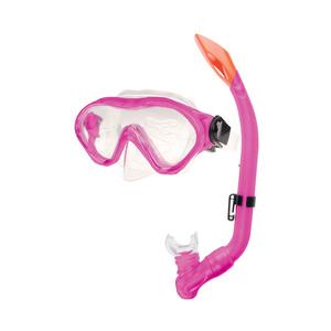 Sada brýle+šnorchl Spokey CAYMAN JUNIOR růžový, Spokey