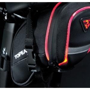Brašna Topeak AERO WEDGE iGlow Small pásky TIG-AW02, Topeak