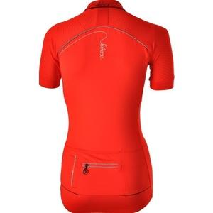 Dámský cyklistický dres Silvini CATIRINA WD1002 red, Silvini