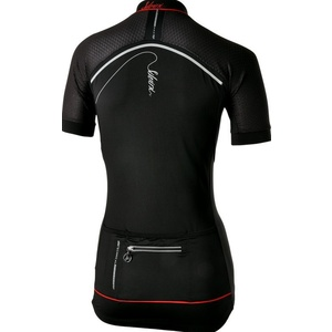 Dámský cyklistický dres Silvini CATIRINA WD1002 black-red, Silvini