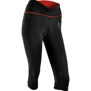 Dámské 3/4 cyklistické kalhoty Silvini TINELLA WP1010 black-red, Silvini