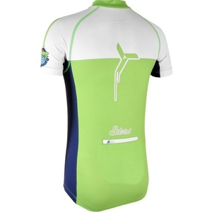 Dětský cyklistický dres Silvini TANARO CD812 green-navy, Silvini