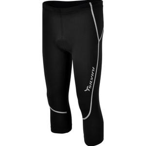 Dětské 3/4 cyklistické kalhoty Silvini BASENTO CP790P black, Silvini