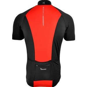 Pánský cyklistický dres Silvini PESCARA MD1025 black-red, Silvini