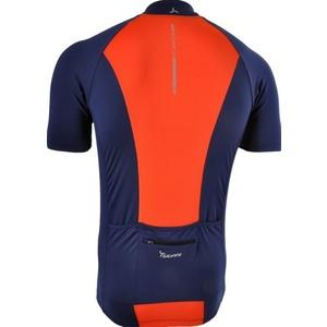 Pánský cyklistický dres Silvini PESCARA MD1025 navy-orange, Silvini