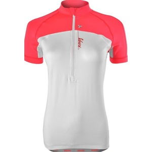 Dámský cyklistický dres Silvini GRUSO WD1026 white-punch, Silvini