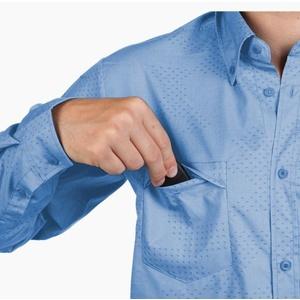 Košile Salewa PUEZ CAMO DRY M L/S SHIRT 26332-8408, Salewa