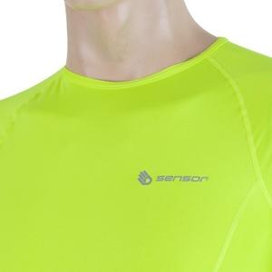 Pánské triko Sensor Coolmax Fresh žlutá reflex 17100006, Sensor