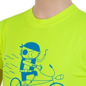Dětské triko Sensor COOLMAX FRESH PT PIRATE reflex žlutá 17100041, Sensor