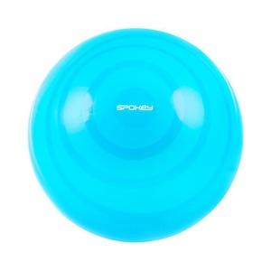 Gymnastický míč Spokey FITBALL FLEX 65 cm včetně pumpičky tyrkysový, Spokey
