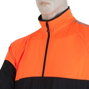 Pánská bunda Sensor NEON černá/oranžová reflex 17100114, Sensor