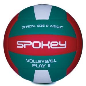 Volejbalový míč Spokey PLAY II červeno-zelený vel.5, Spokey