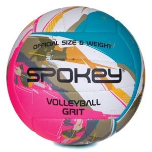 Volejbalový míč Spokey GRIT tyrkysovo-bílo-růžový č.5, Spokey