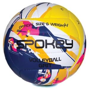 Volejbalový míč Spokey GRIT fialovo-žlutý č.5, Spokey