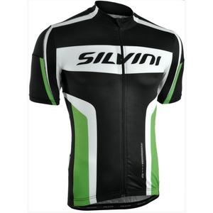 Pánský cyklistický dres Silvini LEMME MD603 black-forest, Silvini