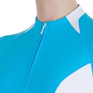 Dámský cyklo dres Sensor CYKLO RACE modrá/bílá 17100085, Sensor