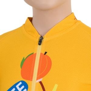Dětský cyklo dres Sensor CYKLO CHIMPANZEE žlutý 15100101, Sensor