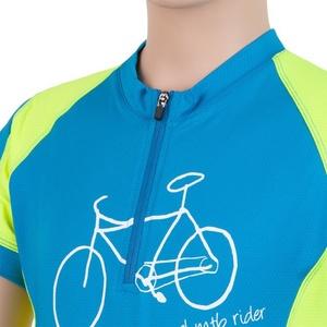 Dětský cyklo dres Sensor CYKLO ENTRY modrá/žlutá reflex 17100102, Sensor