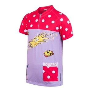 Dětský cyklo dres Sensor SUN DREAM fialová/růžová 17100104, Sensor