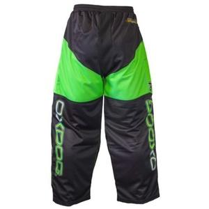 Brankářské kalhoty OXDOG VAPOR GOALIE PANTS black/green, Oxdog