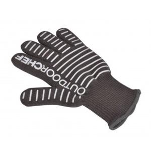 Silikonová grilovací rukavice Outdoorchef černá, OutdoorChef