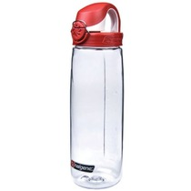 Láhev Nalgene OTF 0,7l 5565-1024 clear fire red, Nalgene
