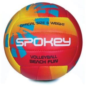 Volejbalový míč Spokey BEACH FUN červeno-žlutý č.5, Spokey