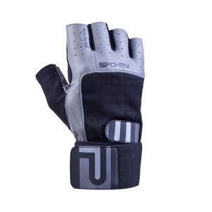 Fitness rukavice Spokey GUANTO II černo-šedé, Spokey