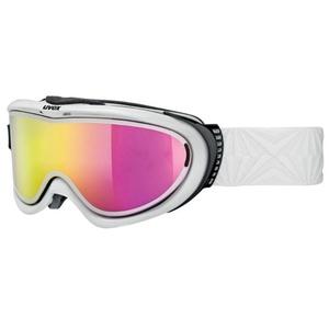 Lyžařské brýle Uvex COMANCHE Take off pola, white/litemirror pink (1026), Uvex