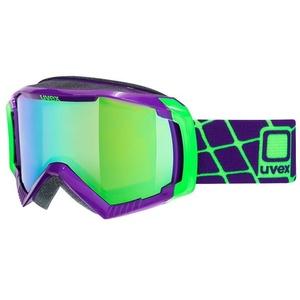 Lyžařské brýle Uvex G.GL 100, dark purple/litemirror green (9926), Uvex