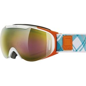 Lyžařské brýle Uvex G.GL 9 RECON READY, white-orange double lens/litemirror gold (1126), Uvex