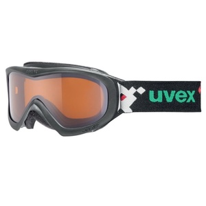 Lyžařské brýle Uvex WIZZARD DL, white pacman double lens/lasergold (1022), Uvex