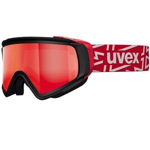 Lyžařské brýle Uvex JAKK TAKE OFF POLA, black mat/litemirror red (2026), Uvex